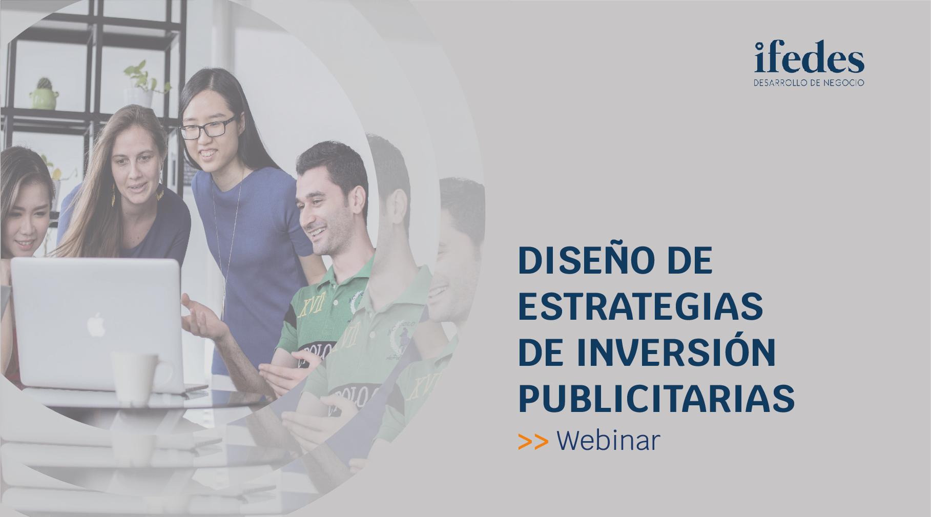 Diseño estrategia inversión publicitaria