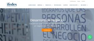 Ifedes estrena nueva web
