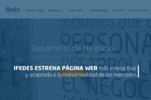 Ifedes estrena página web más interactiva y adaptada a la nueva realidad de los mercados