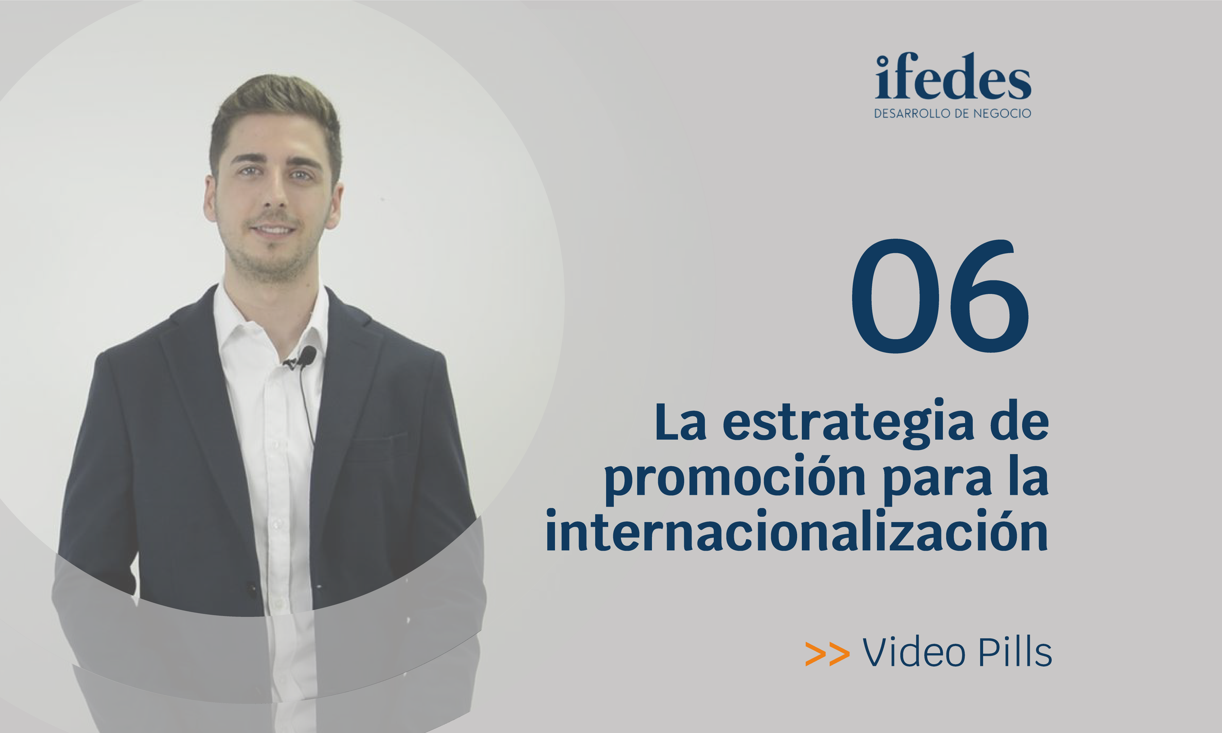 Estrategia promocion videopills Sergio Garcia ifedes